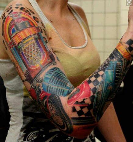 10 Colorful Rockabilly Tattoos  Tattoo Artist Magazine
