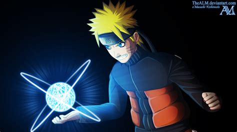 Naruto Rasengan By Thealm On Deviantart