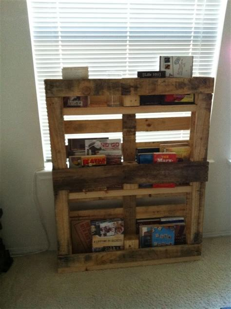 diy bookshelf ideas  pallet wood pallet furniture plans