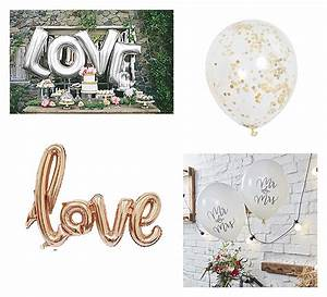 Luftballons Mit Konfetti Gefüllt : trend 2017 2018 dekorieren mit luftballons hochzeitsblog the little wedding corner ~ Frokenaadalensverden.com Haus und Dekorationen