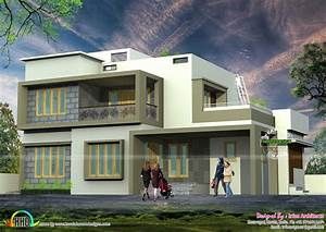 Very simple modern house architecture - Kerala home design ...