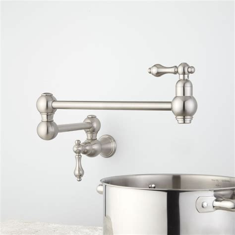 polished nickel kitchen faucet nickel kitchen faucet usherlife 304 stainless steel