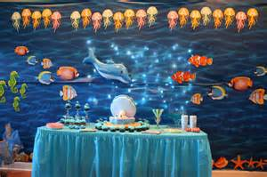 Image of: Sea Party Decoration Sandy Party Decoration Applicable Beach Theme Décor With Fresher Ideas And Results