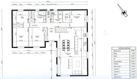 bureau plan thonon photo quot plan de maison en l 3 chambres 1 bureau quot maison
