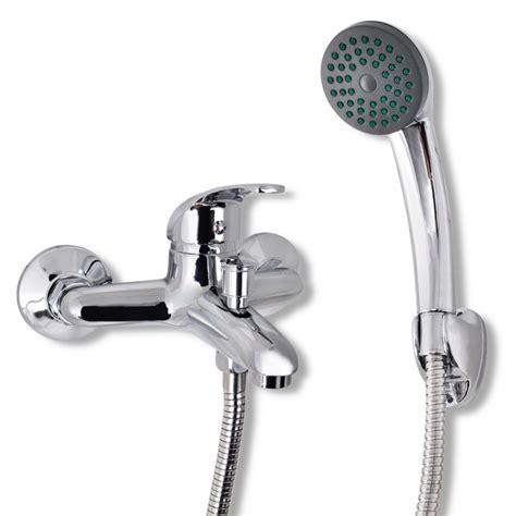 flessibile rubinetto rubinetto da doccia con maniglia singola bagno con tubo