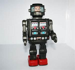 Horikawa Japan 60's Astronaut Robot Battery Operated 11.5 ...