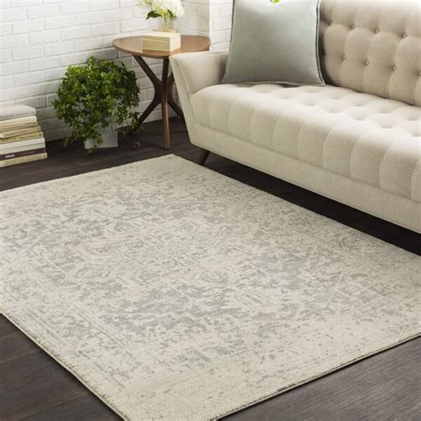 rug area beige light rugs gray