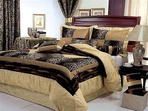 luxurious animal print bedroom decor home pinterest