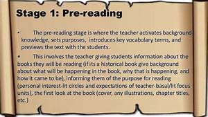 5 Stages Of Reading Process