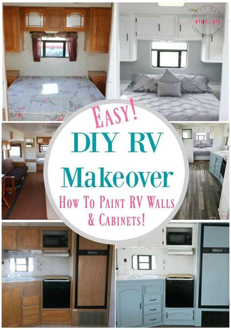 easy rv remodeling rv makeover reveal