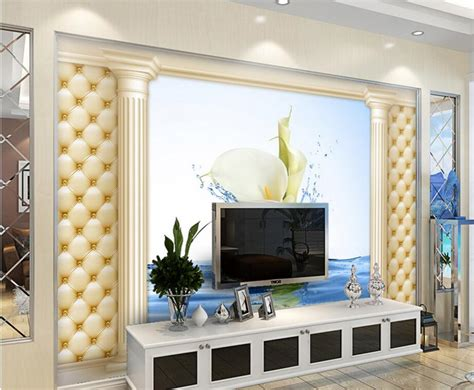Living Room Restaurant Rome by Calla Rome Column Flexpack 3d Wallpaper Hotel