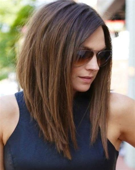 shoulder length hair style  face newhairstylesclub