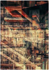 Abstract Russian Constructivism Art
