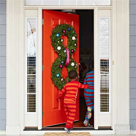 unique holiday door decor pretty door decorations