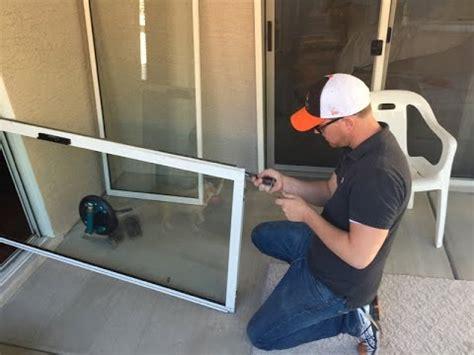 sliding door repair sliding glass door repair repair uneven sliding glass