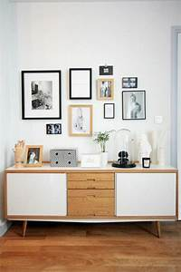 Dco Salon Bahut Ikea En Bois Pour Le Salon Moderne Avec
