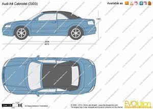 Dimension Audi A4 : audi a4 cabriolet vector drawing ~ Medecine-chirurgie-esthetiques.com Avis de Voitures