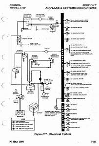 Cessna 172 Electrical System Schematic  Whelen 500 Wiring