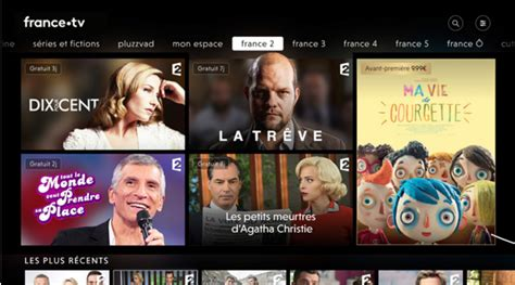 [màj] France Tv Lance Son Nouveau Service De Replay, Qui