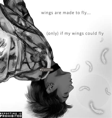 Bts Fanart Jungkook Bts Jungkook Fly Bts Wings Fanart Bts Bts Bts Wings Bts Jungkook