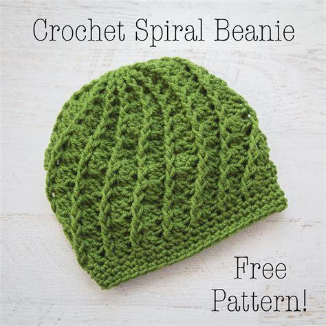 crochet beanie pattern crochet spiral beanie free crochet pattern 187 loganberry handmade