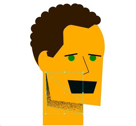 steps  create  flat design character  illustrator