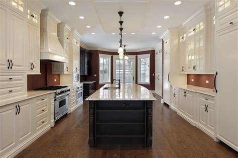 remodeled kitchens with islands 53 spacious quot construction quot custom luxury kitchen designs