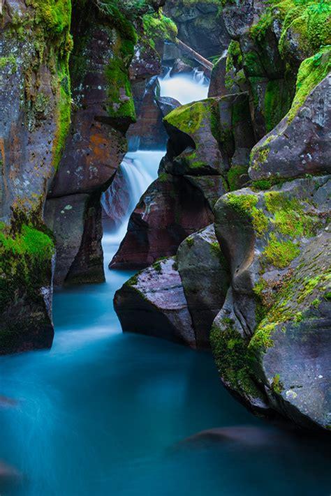 avalanche gorge glacier national park