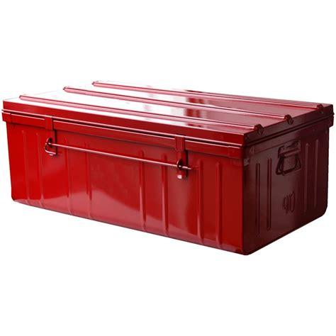 caisse de rangement metallique de rangement m 233 tallique henry pas cher 224 prix auchan