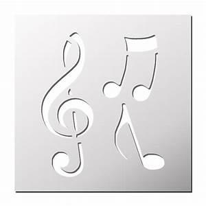 Faire Un Pochoir : pochoir notes de musique frenchimmo ~ Premium-room.com Idées de Décoration