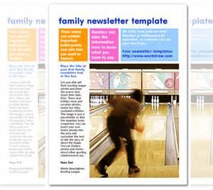 Free Word Newsletter Templates Editable
