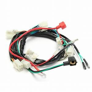 Motorcycles Machine Electric Start Wiring Harness For 50cc