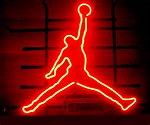 Wiki Neon Sign Blog MICHAEL JORDAN BASKETBALL AIR BEER