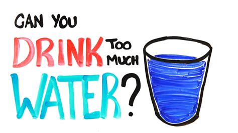 Can You Drink Too Much Water? Doovi
