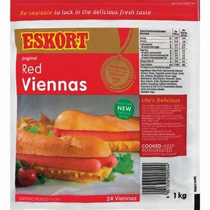 Eskort Viennas Sausage 1kg Shoprite Za