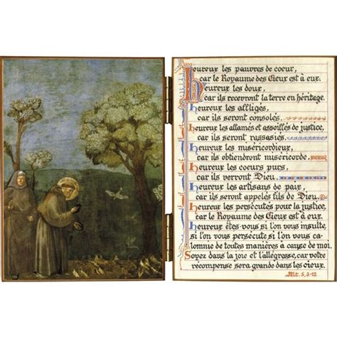 religious diptych francis of assisi r 233 f d23b sale of religious products