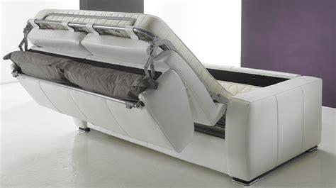 canapé lit en cuir 2 places couchage 120 cm tarif usine