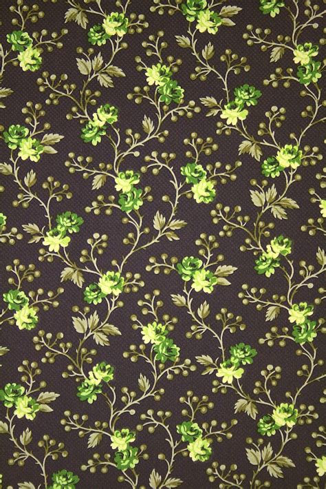 green  brown floral wallpaper gallery