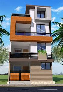 G, 2, Modern, House, Elevation