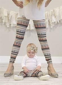 Vetement Assorti Mere Fils : leggings assortis m re fille ethnique 2 m re et fille pinterest bebe v tements b b et ~ Melissatoandfro.com Idées de Décoration
