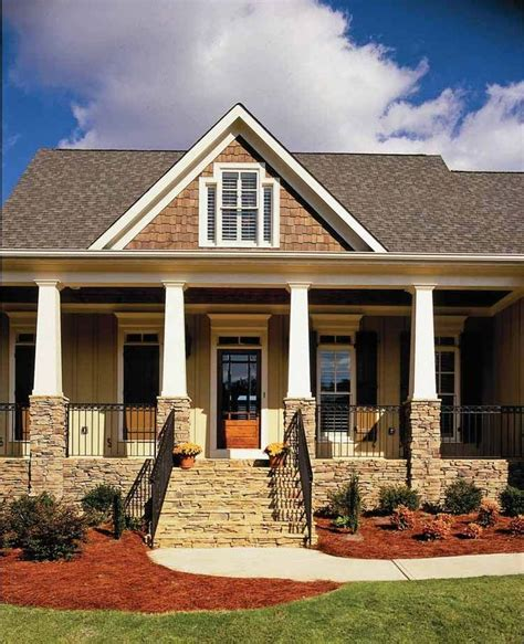 two house plans with front porch architecture typically features wood siding wooden