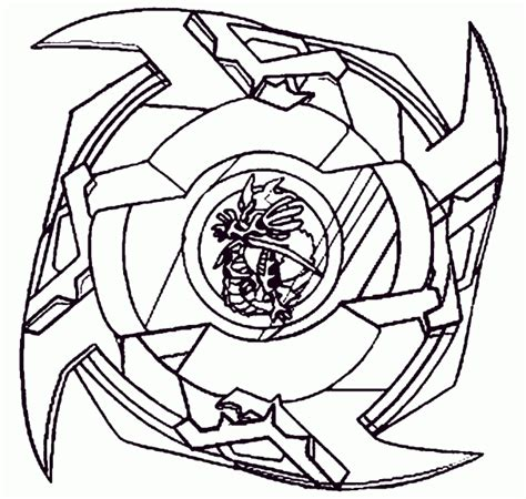 coloriage toupie beyblade  imprimer