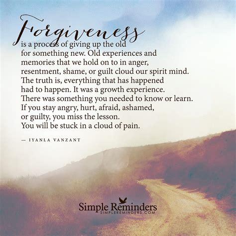 forgiveness   process  giving