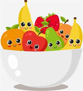 Bowl Of Fruit, Vector Material, Fruit Salad, Salad Bowl ...