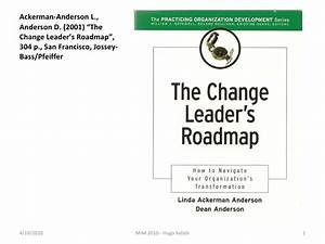 Book change leaders roadmap