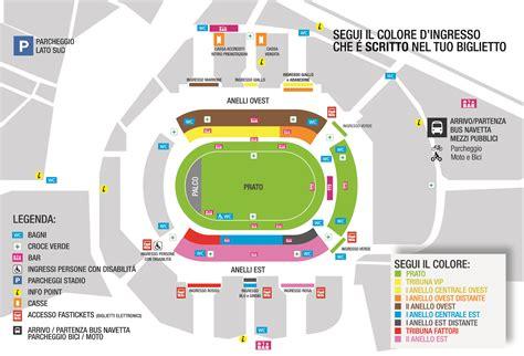 Ingresso Tribuna Monte Mario by D Alessandro E Galli Roger Waters Stadio