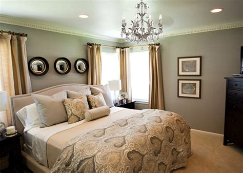 grey wall paint color for traditional master bedroom