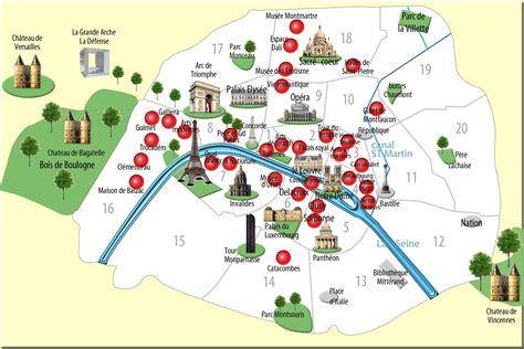 Carte Avec Monuments Historiques by Plan Monuments Carte Monuments