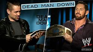 'Dead Man Down' - Wade Barrett gets 'Down' with Co-stars ...