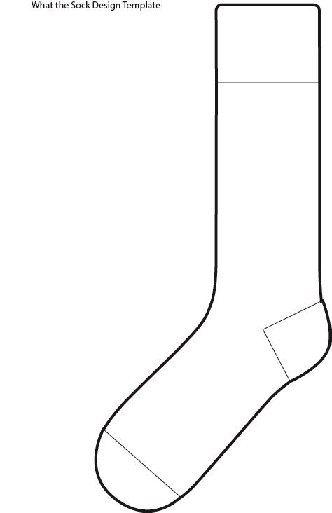sock design template 14 socks outline template images socks clip free fox in socks printable coloring pages